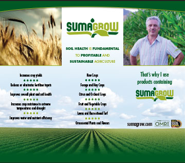 SumaGrow three panel banner